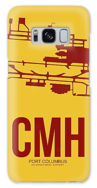 Airport Galaxy Case - Cmh Columbus Airport Poster 3 by Naxart Studio