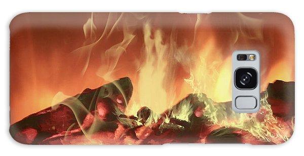 C'mon Baby Light My Fire Galaxy Case