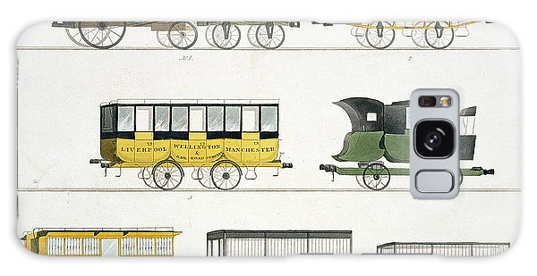 Trains Galaxy Case - Coaches Employed On The Railway, Plate by Thomas Talbot Bury