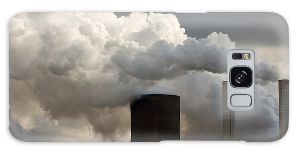 Coal Power Station Blasting Away Galaxy Case