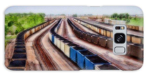 Coal Snakes Galaxy Case by Sylvia Thornton