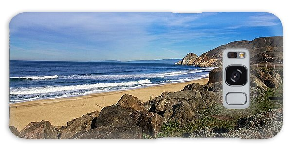 Coastal Beauty Galaxy Case by Dave Files