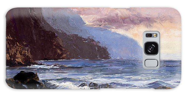 Coastal Cliffs Beckoning Galaxy Case