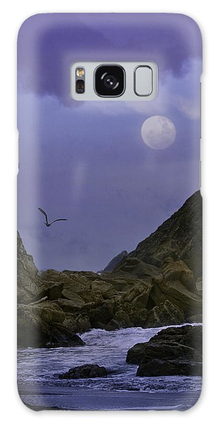 Coastal Moods Moonglo Galaxy Case by Diane Schuster