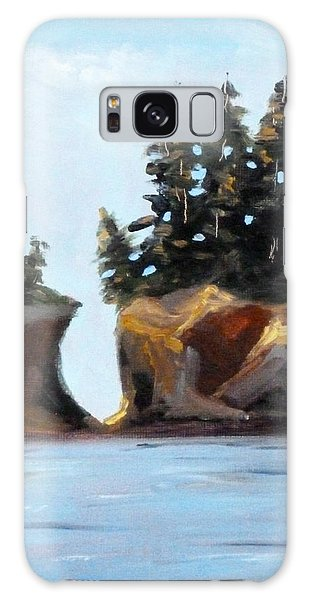 Sea Stacks Galaxy Case - Coastal by Nancy Merkle