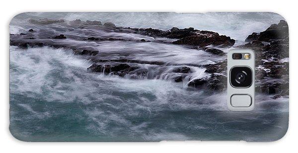 Coastal Rocks Off Rancho Palo Verdes Photography By Denise Dube Galaxy Case