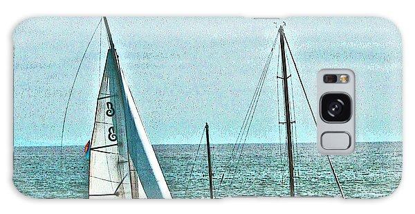 Coastal Sail Boats Galaxy Case