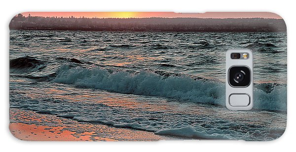 Coastal Sunset Galaxy Case by Brian Chase