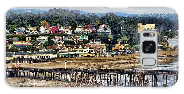California Coastal Town Galaxy Case