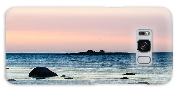 Coastal Twilight View Galaxy Case