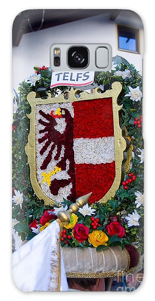 Coat Of Arms Of Austrian Town Telfs Galaxy Case