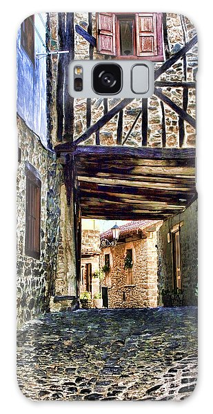 Cobble Streets Of Potes Spain By Diana Sainz Galaxy Case