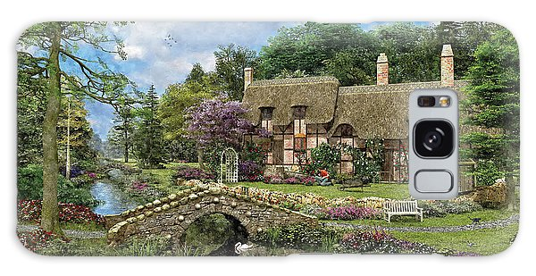Any Galaxy Case - Cobble Walk Cottage by MGL Meiklejohn Graphics Licensing