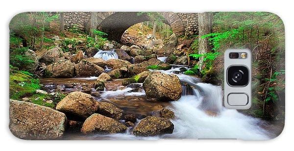 Otter Rock Galaxy Case - Cobblestone Bridge by Emmanuel Panagiotakis