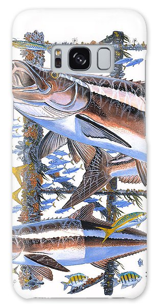 Mangrove Snapper Galaxy Case - Cobia Hangout by Carey Chen