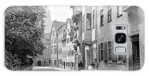 Coburg Germany Street Scene 1903 Galaxy Case