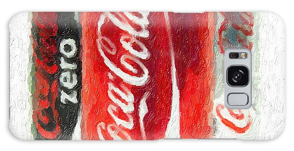 Coca Cola Art Impasto Galaxy Case