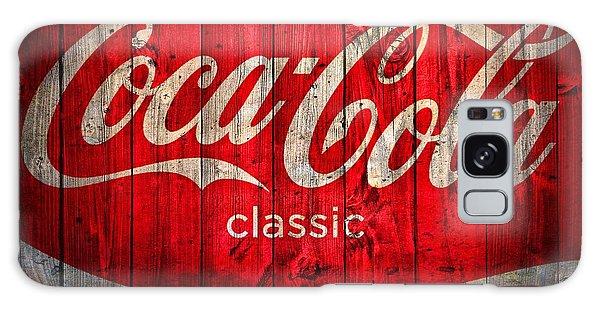 Coca Cola Barn Galaxy Case