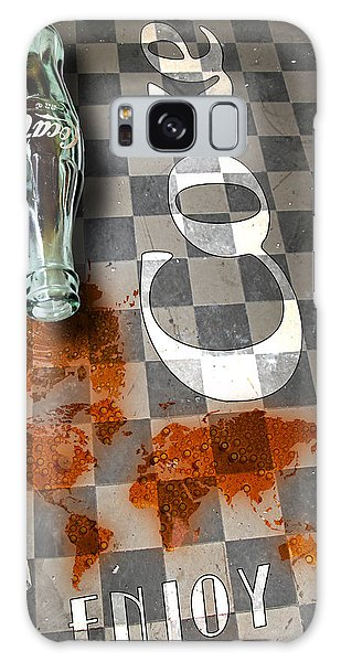 Galaxy Case featuring the photograph Coca Cola Loved All Over The World 3 by James Sage
