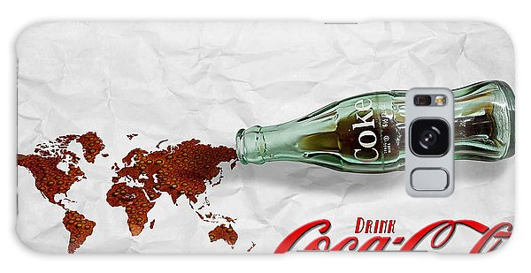 Coca Cola Loved All Over The World Galaxy Case