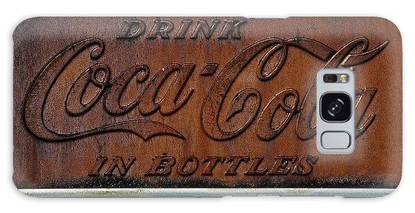 Coca-cola Sign Galaxy Case by Andy Crawford
