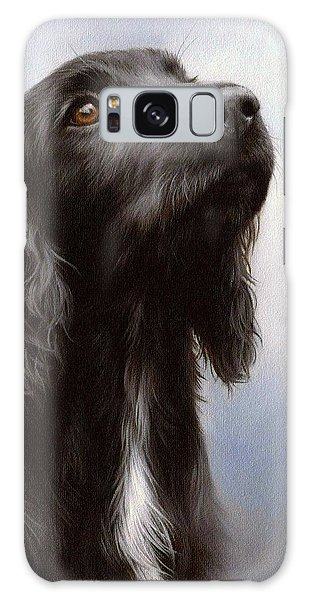 Cocker Spaniel Painting Galaxy Case