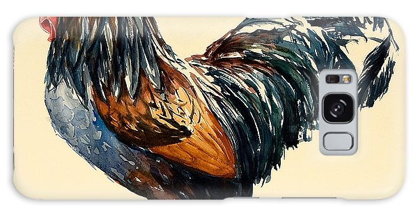 Cockerel Galaxy Case by Alison Cooper