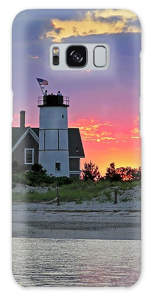 Sly Galaxy Case - Cocktail Hour At Sandy Neck Lighthouse by Charles Harden