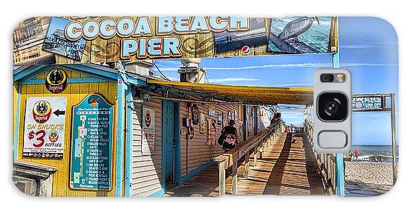 Cocoa Beach Pier In Florida Galaxy Case