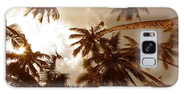 Coconut Palms Galaxy Case