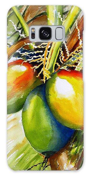 Coconuts Galaxy Case by Carlin Blahnik