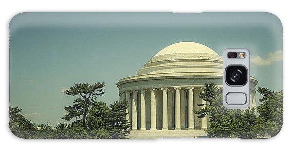 Jefferson Memorial Galaxy S8 Case - Code Of Honor by Evelina Kremsdorf