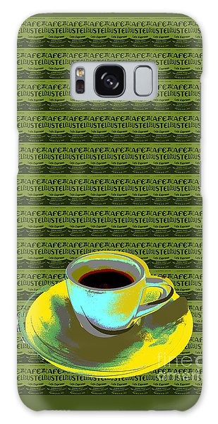 Coffee Cup Pop Art Galaxy Case