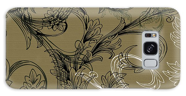 Coffee Flowers 3 Olive Galaxy Case