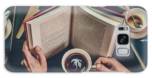 Cafe Galaxy Case - Coffee For Dreamers by Dina Belenko