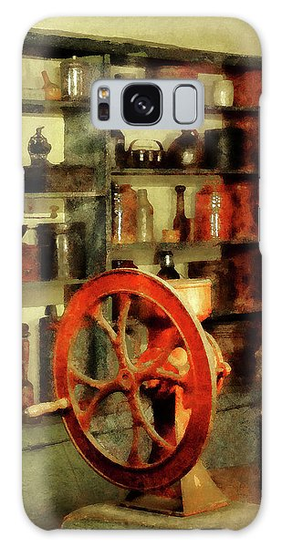 Coffee Grinder And Canister Of Sugar Galaxy Case by Susan Savad