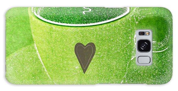 Heart Galaxy Case - Coffee by Linda Woods