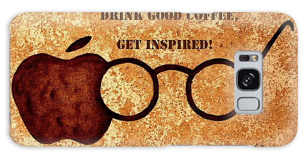 Coffee Lovers Quote 2 Galaxy Case
