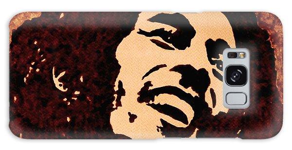 Coffee Painting Bob Marley Galaxy Case