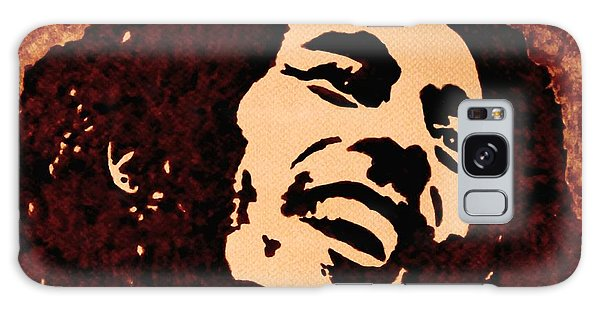 Coffee Painting Bob Marley Galaxy Case