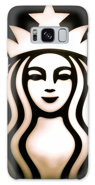 Coffee Queen Galaxy Case by Spencer McDonald