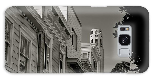 Coit Tower Galaxy Case by Alex King
