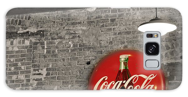 Coke Cola Sign Galaxy Case