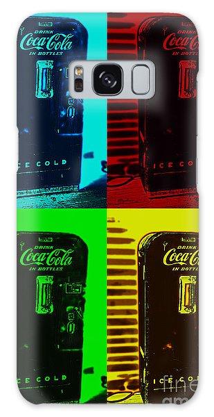 Coke Poster Galaxy Case