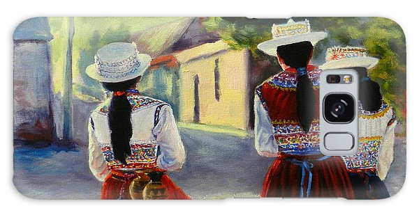 Colca Valley Ladies, Peru Impression Galaxy Case