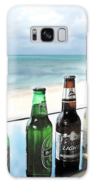 Cold Beers In Paradise Galaxy Case