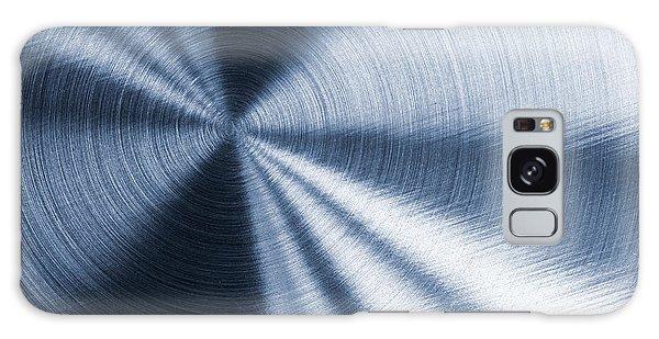 Cold Blue Metallic Texture Galaxy Case
