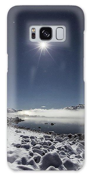 Cold Moon Galaxy Case
