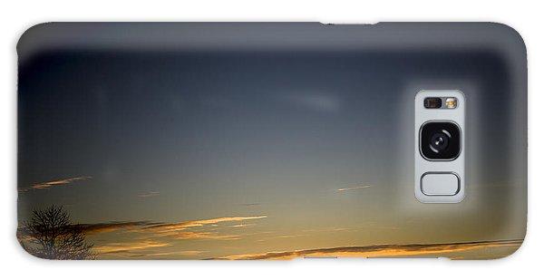 Cold Morning Sunrise Galaxy Case