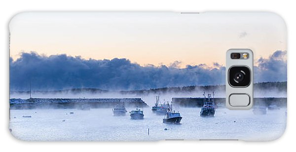 Cold New England Day  Galaxy Case by Trace Kittrell